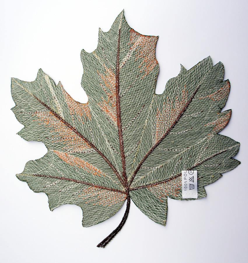 Textilien 2 - Herbstblatt 02